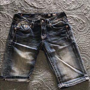 Miss Me Bermuda shorts - embellished pockets